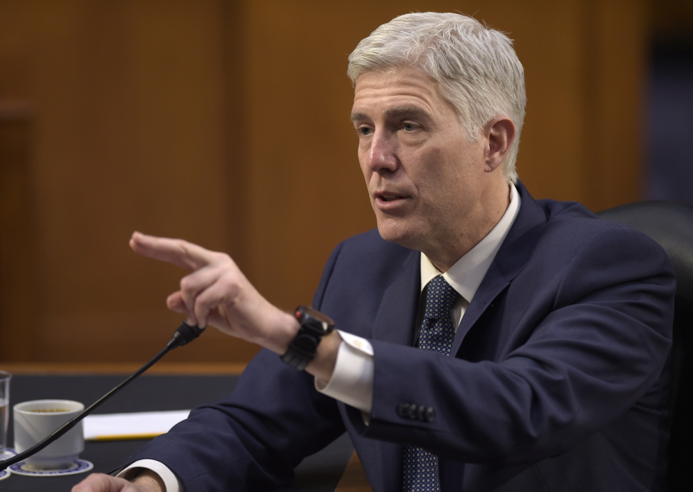 If Supreme Court justice nominee Neil Gorsuch is to be confirmed, Republicans may have to change Senate procedure to allow a simple majority vote.