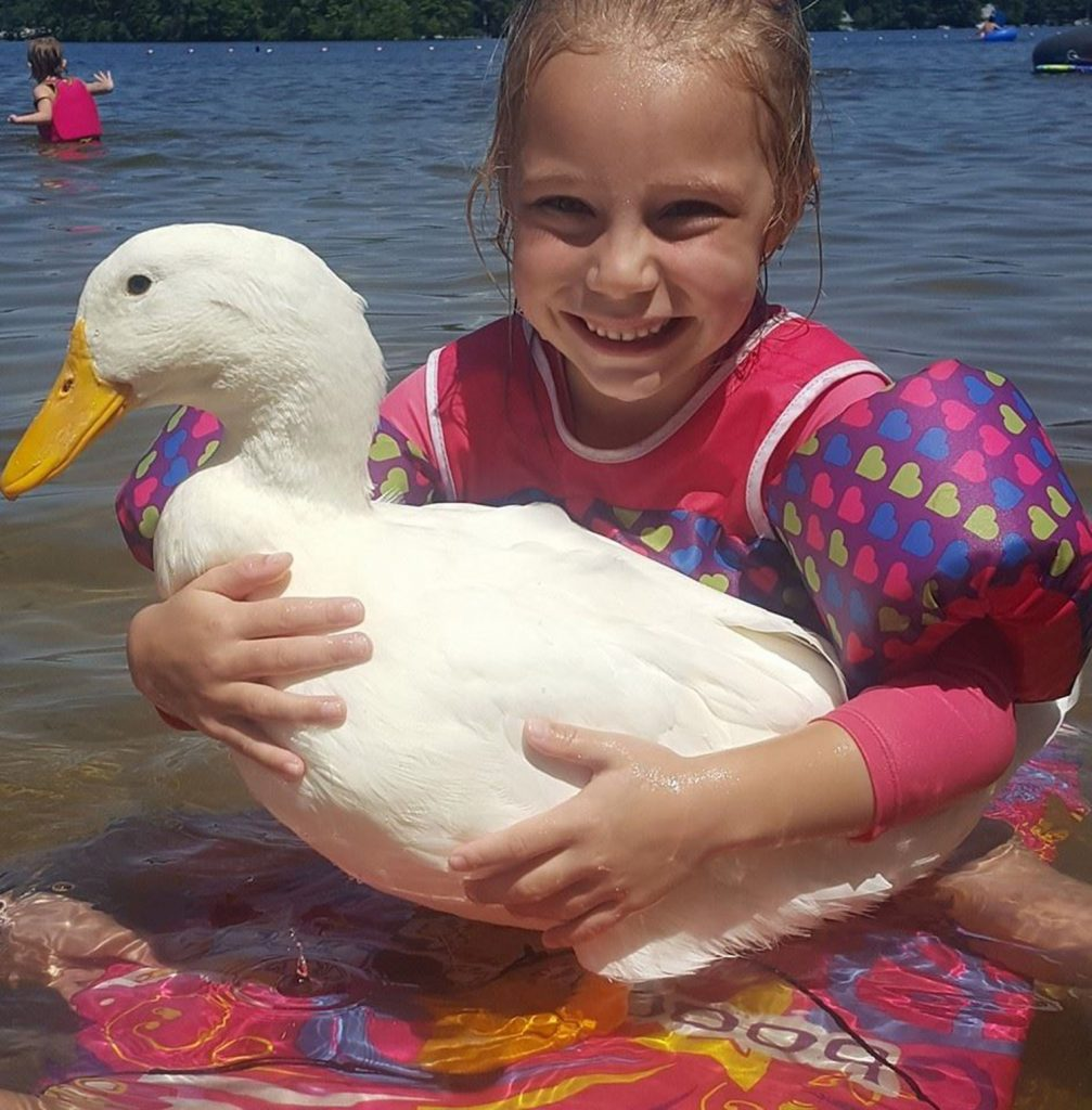 Freeport Girl And Her Pet Duck Will Be On National TV