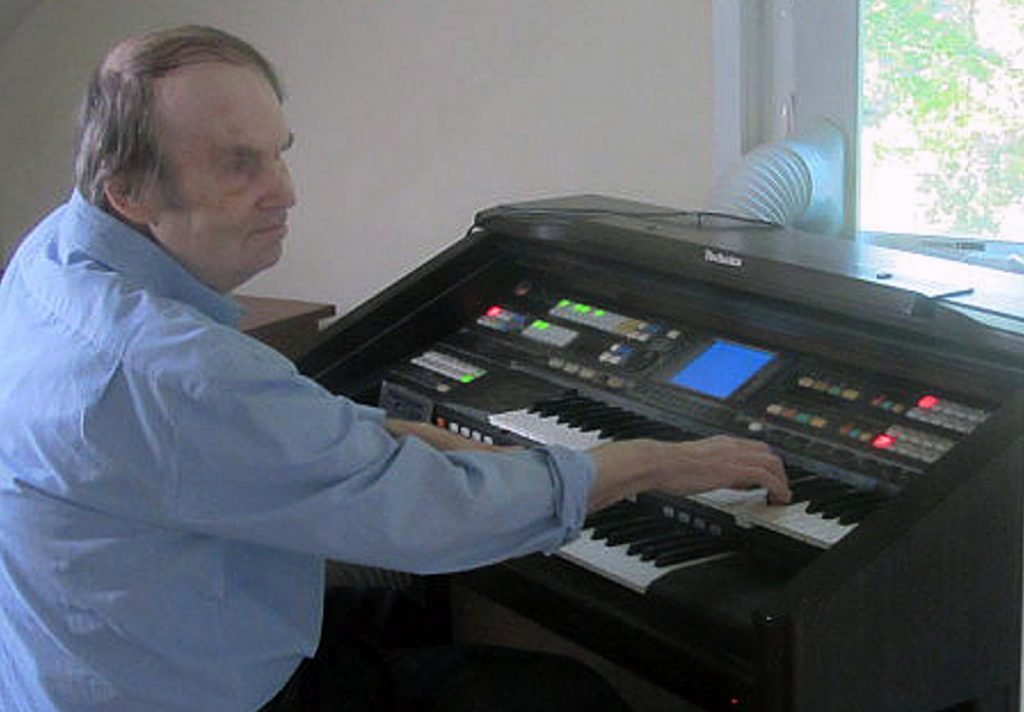 William Dean plays the organ, an instrument he mastered without any lessons. His family retained his three organs after the state tried to sell them. Dean died in October at the age of 71, while his lawsuit against the state was pending.