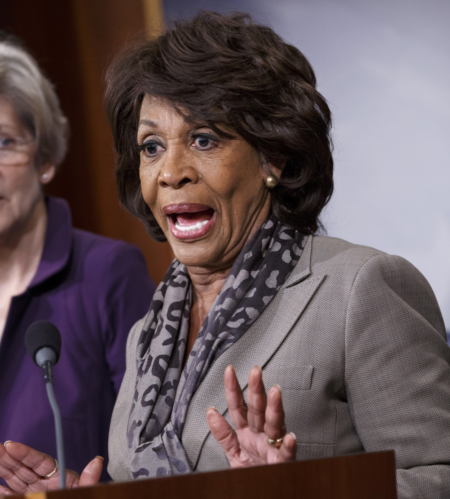 Rep. Maxine Waters, D-Calif., is among women who have had to deal with putdowns from men since coming to Washington. Many blame the condescending tone set by President Trump.