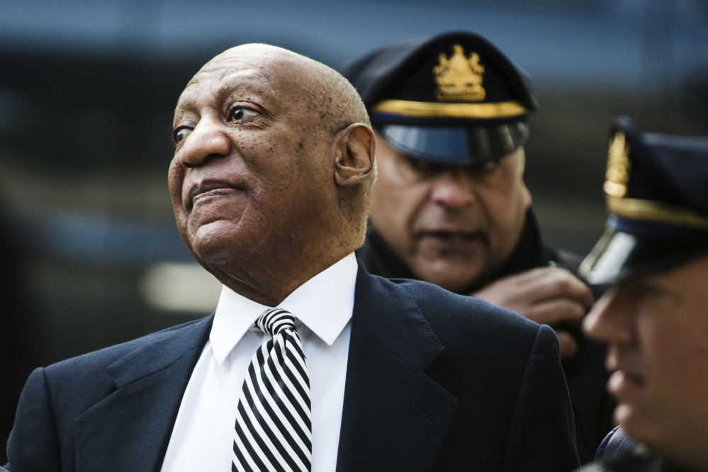 Bill Cosby attended a pretrial hearing in his sexual assault case at the Montgomery County Courthouse Monday in Norristown, Pa.