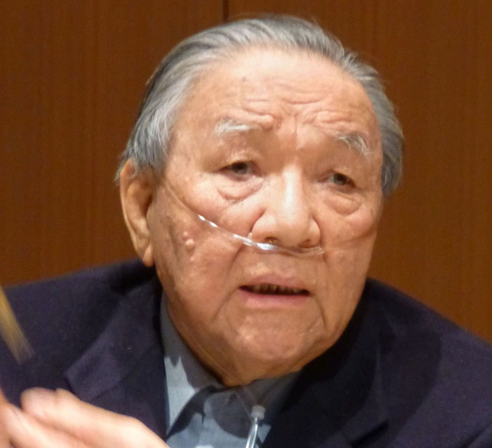 Grammy-winning engineer Ikutaro Kakehashi, shown in 2013, made a point of saying that electronic music and acoustic sounds aren't at odds with each other.
