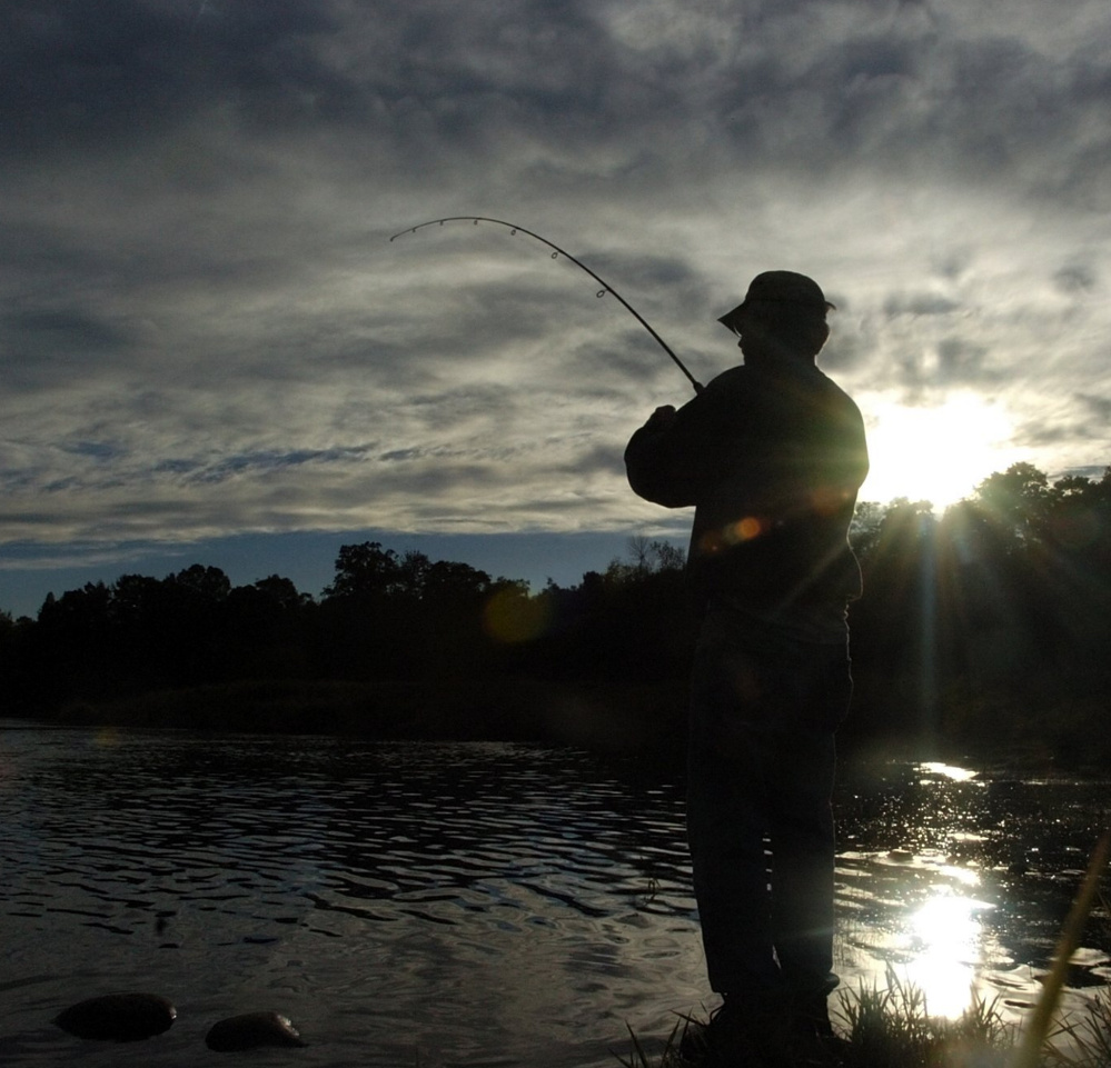 There is magic all over Maine, and fishing is an ideal way to connect, if not with a fish then at least with a sunset along the shores of the Sebasticook River in Benton.