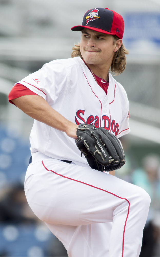 Sea Dogs left-hander Jalen Beeks turned some heads during spring training and got his 2017 season off to a strong start Saturday.