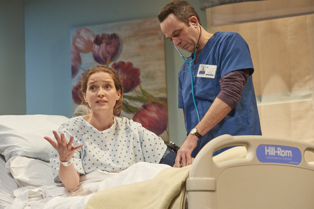"David Mason plays a sarcastic physician's assistant in ""String Around My Finger."""