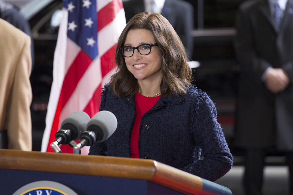 The real-life political scene has made things interesting for Julia Louis-Dreyfus and the cast of