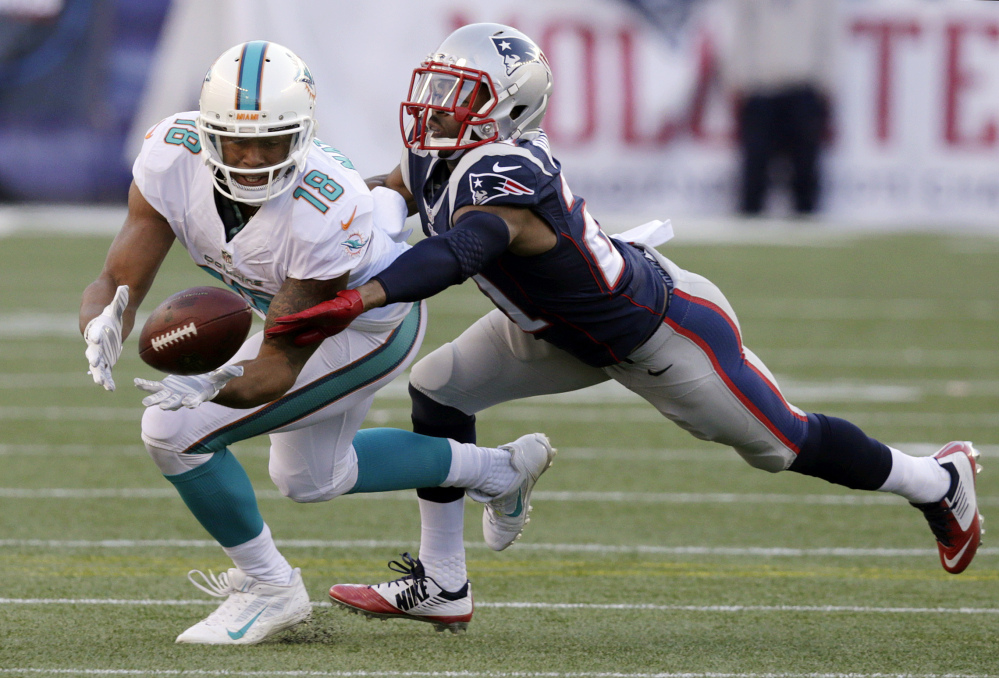 The New England Patriots signed cornerback Malcolm Butler, a restricted free agent, to a $3.91 million agreement on Tuesday.