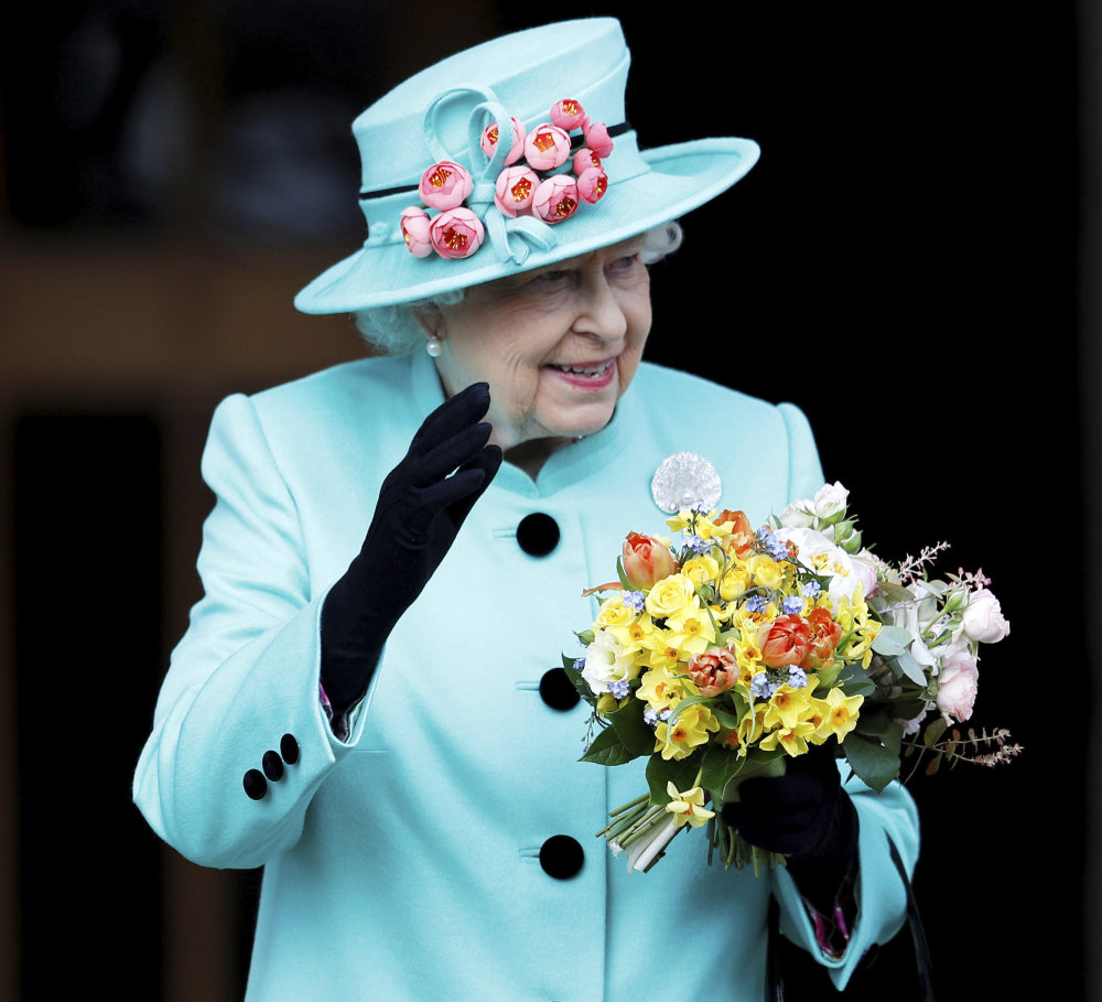 Associated Press/Peter Nicholls Britain's Queen Elizabeth II, seen on Easter Sunday, in Windsor, England, celebrated her birthday on Friday with family outing at the races. At age 91, she is the world's longest-living monarch.
