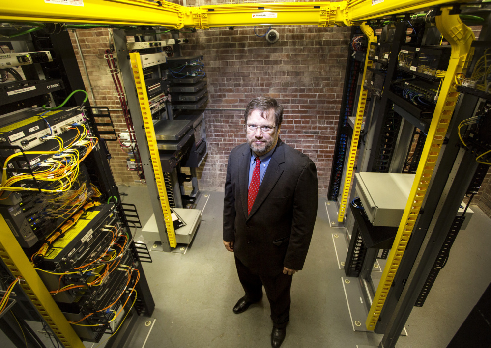 Fletcher Kittredge is founder and CEO of GWI, a phone and internet service provider that serves more than 18,000 customers in Maine. He says the repeal of rules governing what ISPs can do with customer data – which President Trump signed into law this month – will undermine users' trust in the Web.