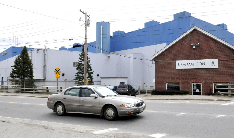 The former Madison Paper Industries mill's assets and equipment, now owned by Somerset Acquisition LLC, are for sale.