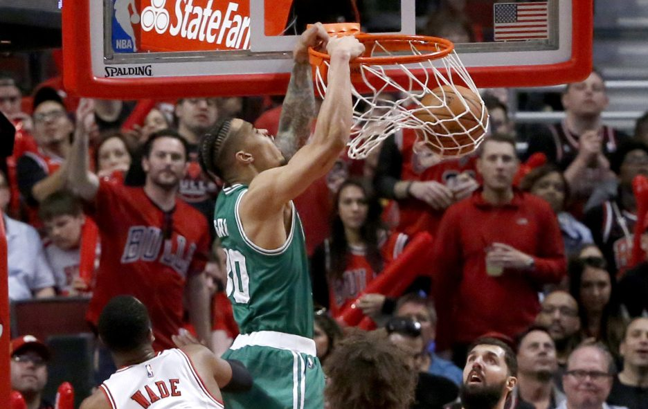 Gerald Green and the Celtics got back in the series with two wins at Chicago. Game 5 is back in Boston with the Celtics having a chance to control home-court advantage.