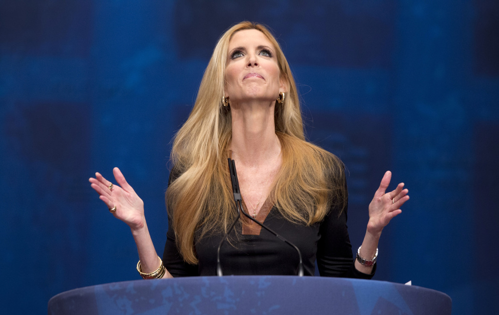 Although she's cancelled a Thursday speech at the University of California, Berkeley, conservative firebrand Ann Coulter says she still might stroll around the campus that she calls