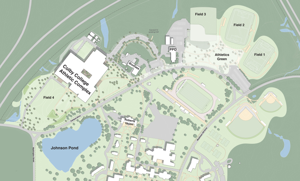 Colby College Plans 200 Million Athletic Facility With First