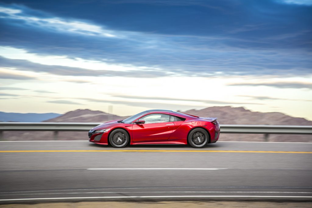 The 2017 Acura NSX's base price is $157,800.