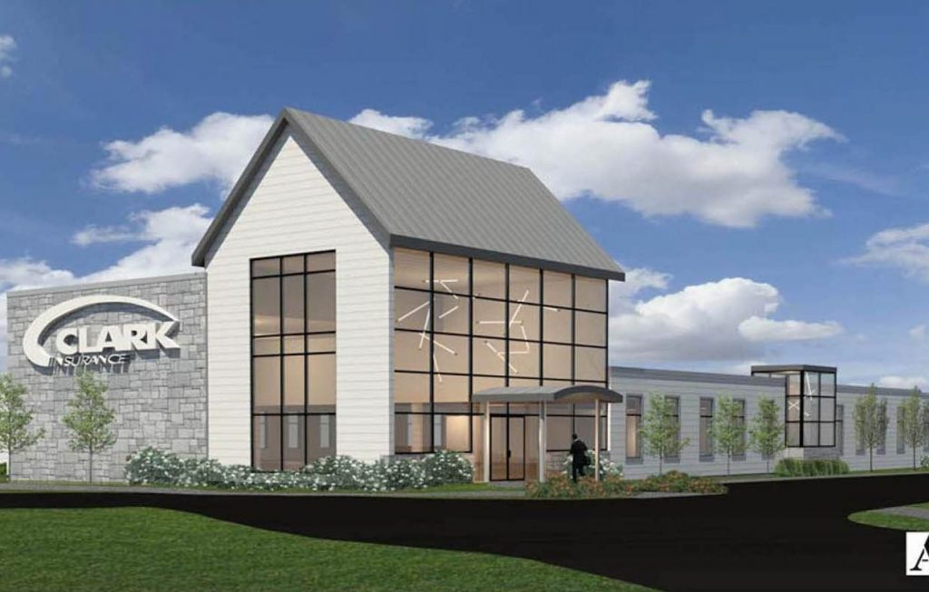Offices for Clark Insurance and a medical office building are planned on the site of the Portland Elks Lodge.