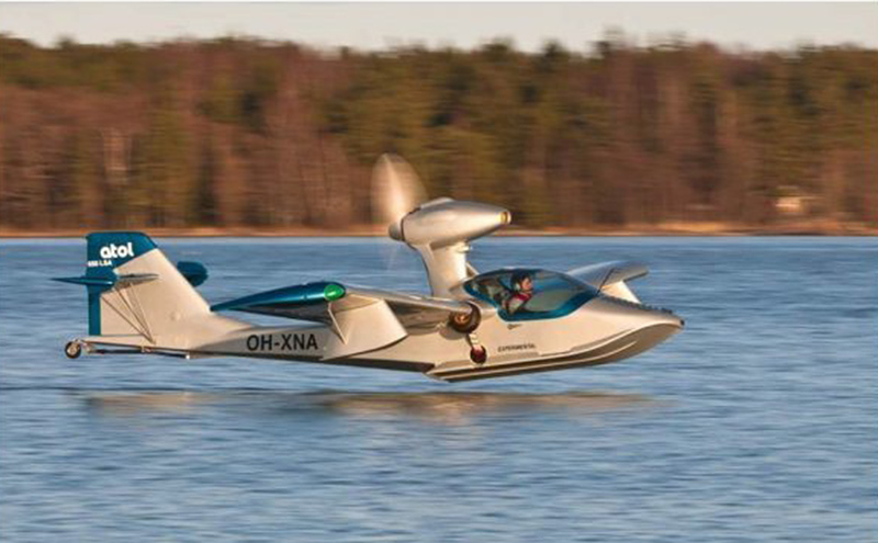 Atol USA's Brunswick Landing facility will make the Atol 650, a light sport aircraft constructed with a mix of carbon fiber, aluminum, Kevlar and wood composites.