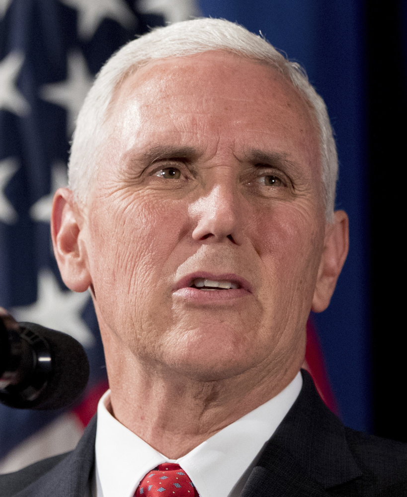 Vice President Pence cast the final vote to break a 50-50 tie on the bill to repeal a consumer protection rule.