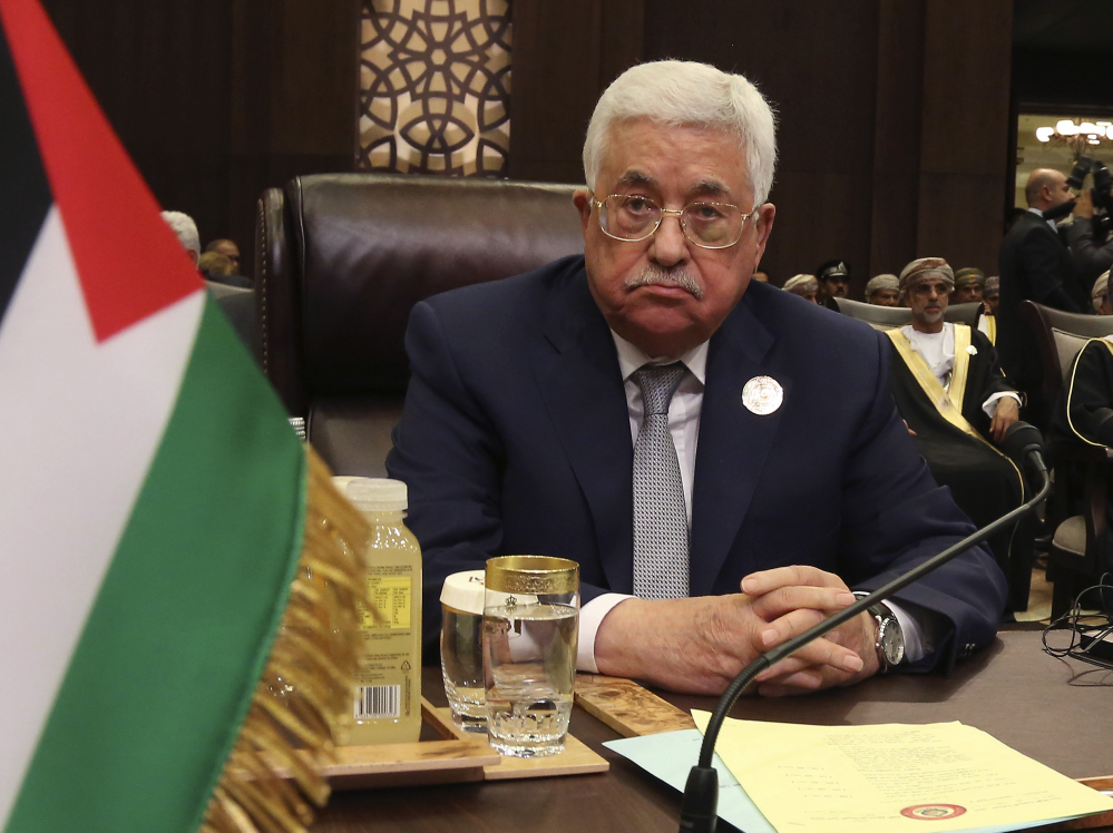 Palestinian President Mahmoud Abbas is said to be expressing a kind of optimism as he prepares with his first meeting with President Trump on Wednesday.