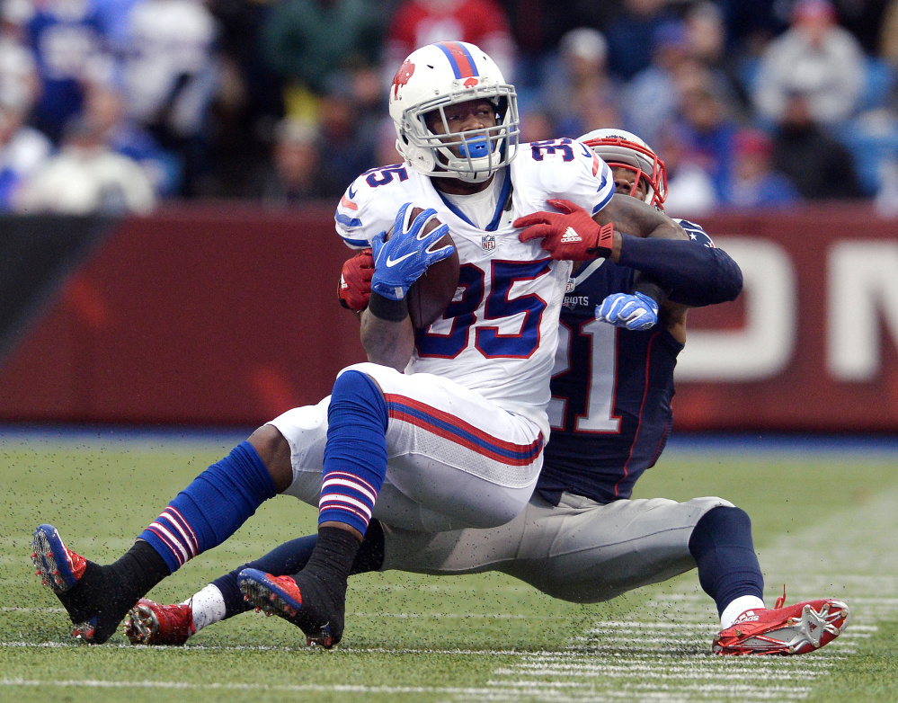 Mike Gillislee, signed away by New England in the offseason,  is one reason the Patriots have not re-signed LeGarrette Blount, who had a league-leading 18 rushing touchdowns.