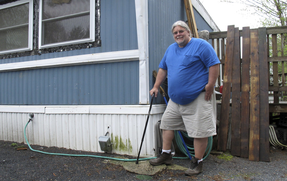 Todd Alexander, a disabled painting contractor from Milton, Vt., says the Low Income Home Energy Assistance Program has helped him for years.