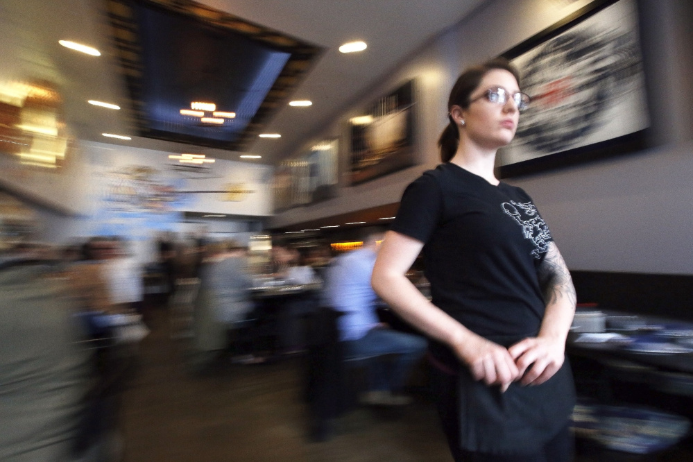 The referendum raising Maine's minimum wage to $12 an hour by 2020 also calls for phasing out the tip credit. By 2024, all restaurant workers would earn the full minimum wage.