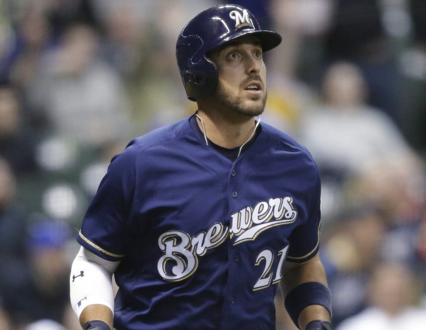 Travis Shaw, now with the Milwaukee Brewers, has more homers and RBI than anyone on the Red Sox – who also are hurting for a healthy third baseman.