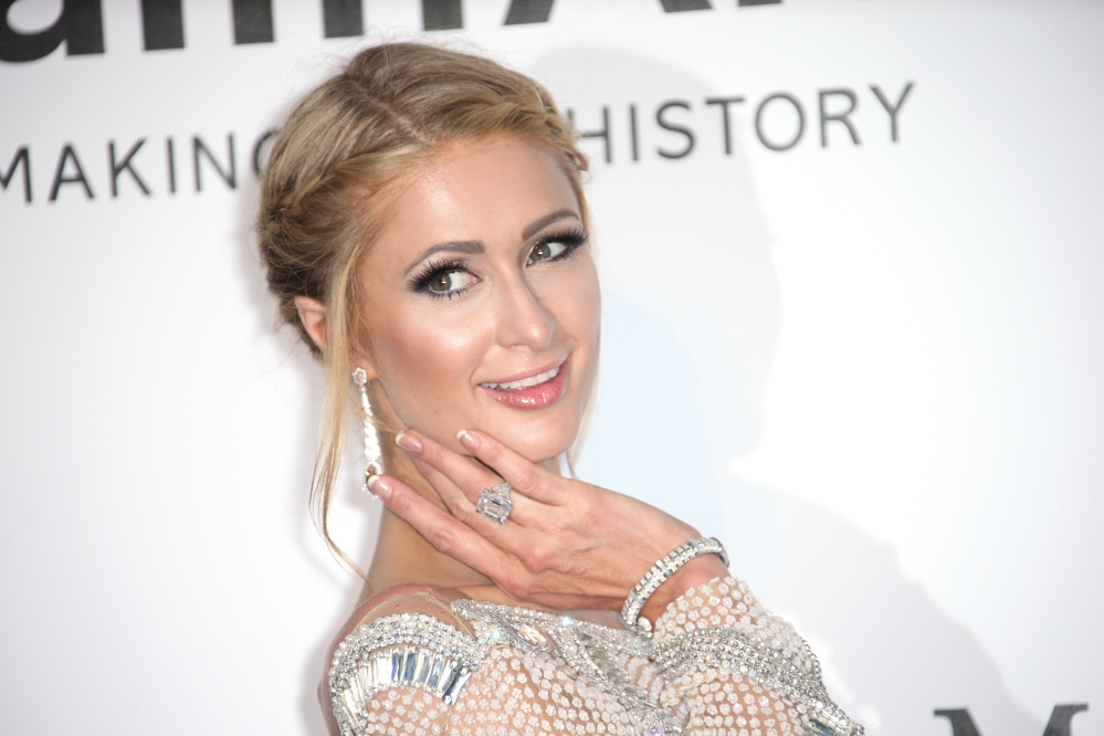 Paris Hilton poses for photographers upon arrival at the 69th Cannes international film festival in southern France in 2016. Associated Press/Joel Ryan