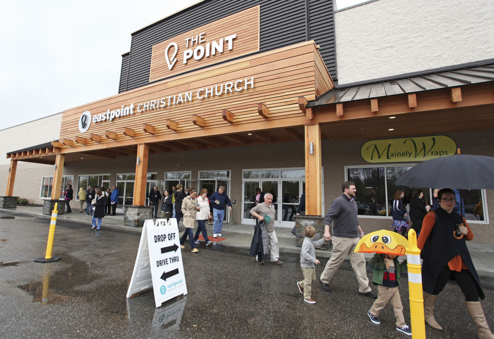 Maine Auto Mall >> Eastpoint Christian Church opens arms in new location ...