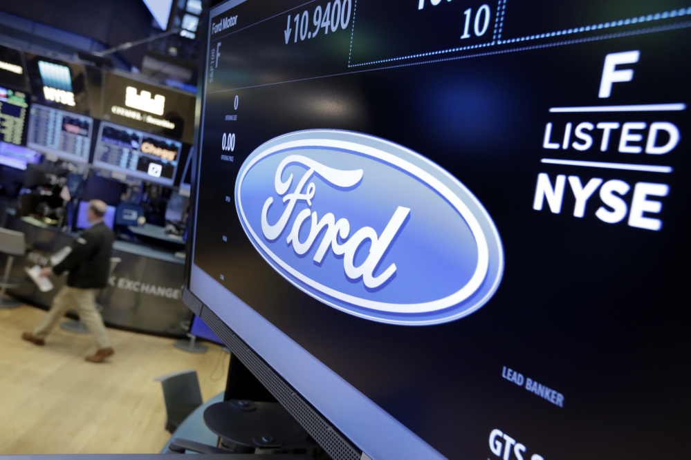 Ford Motor Co. said it plans to cut 10 percent of its salaried jobs in North America and Asia Pacific this year in an effort to boost profits.