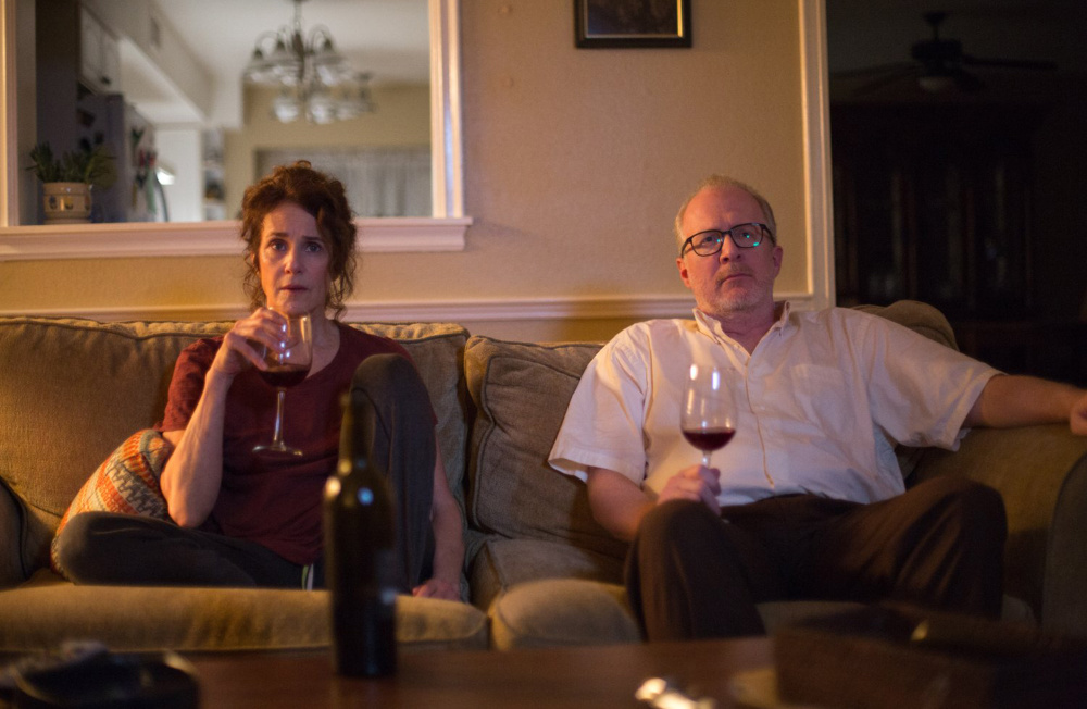 Debra Winger and Tracy Letts in