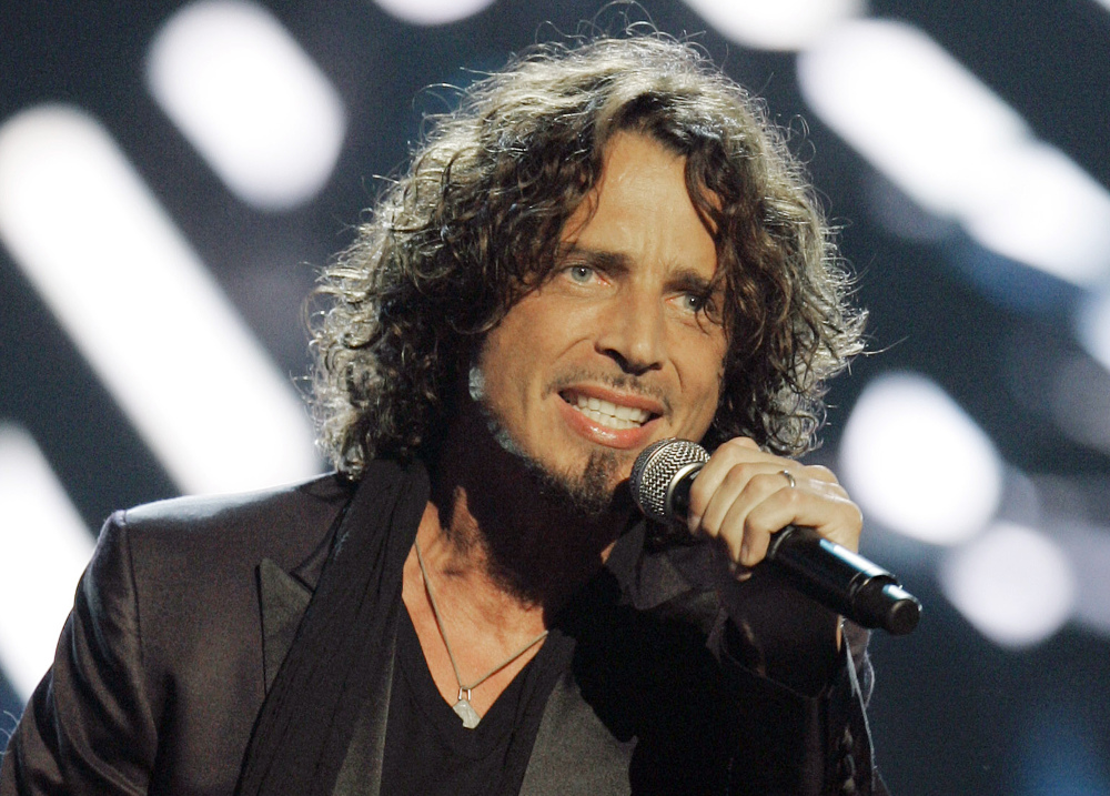 Musician Chris Cornell, shown performing in 2008, died May 18 in Detroit at age 52.