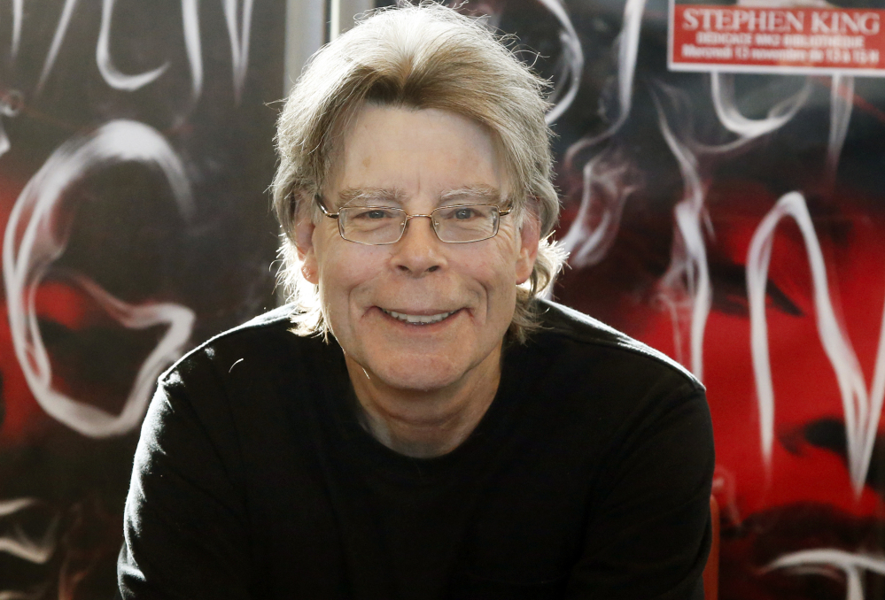 "Author Stephen King, shown in 2013, wrote on Twitter on Tuesday that Islamic State is a ""rogue cult"" and that the group's bombings will eventually lead to its undoing."