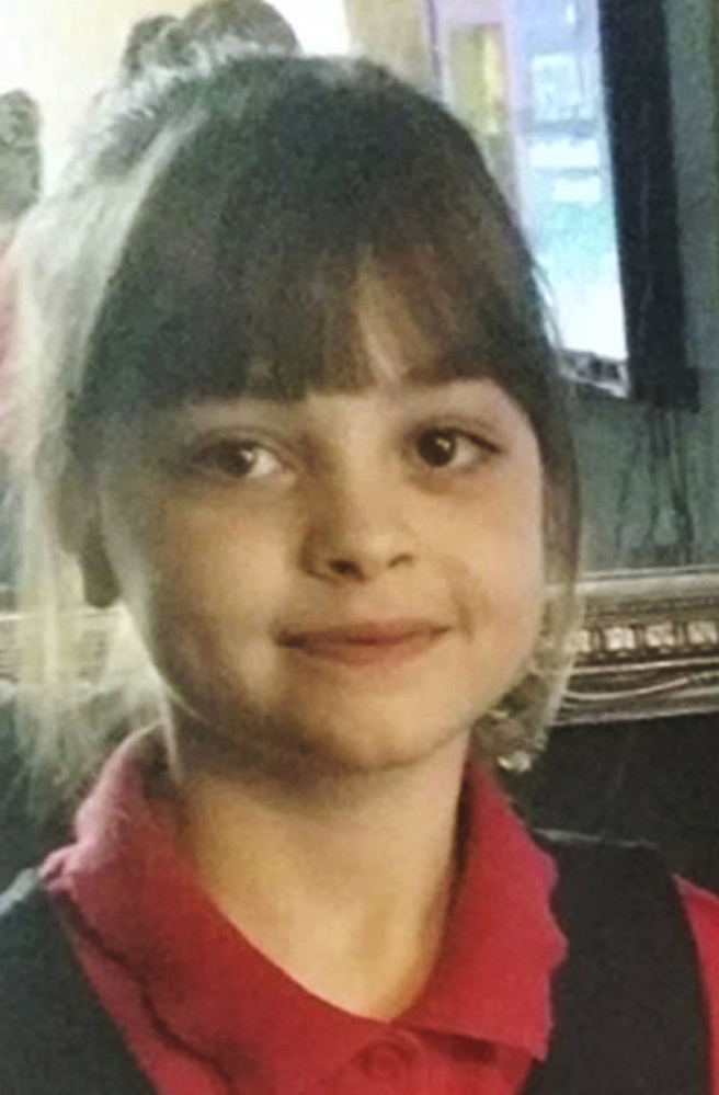 Saffie Roussos went to the concert with her mother and sister, who were both injured in the blast.