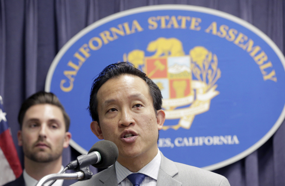 Assemblyman David Chiu, a San Francisco Democrat, says the bills are necessary to protect immigrants who haven't committed crimes since entering the United States.