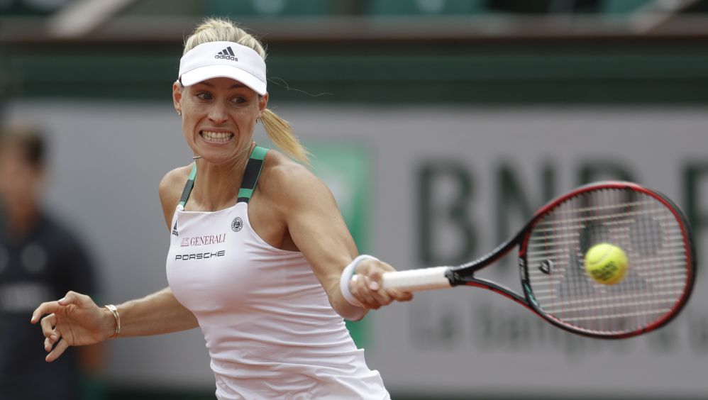 After winning the Australian Open and U.S. Open in 2016 and reaching the final at Wimbledon, Angelique Kerber has struggled this season and couldn't shake out of her slump at Roland Garros.