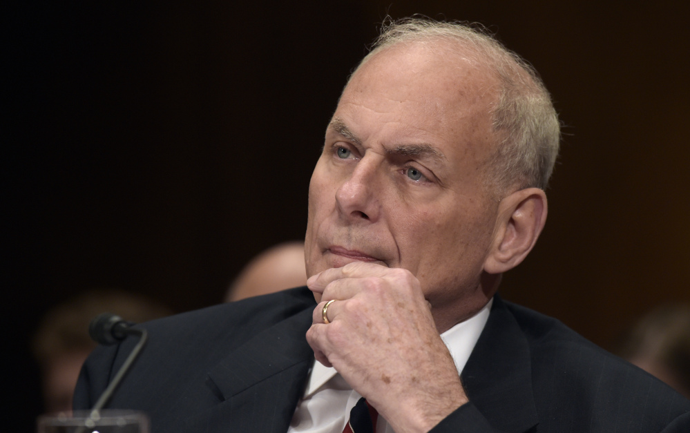 Homeland Security Secretary John Kelly says of back-channel communications,