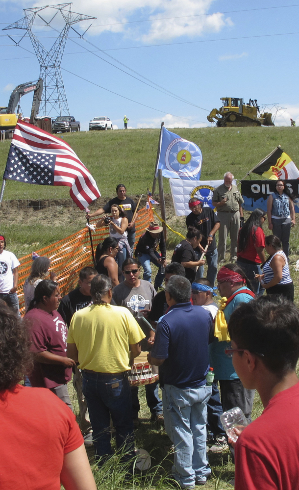 A film festival at Standing Rock Sioux Reservation in North Dakota aims to bolster those who protested the Dakota Access pipeline.