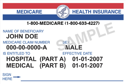 "Current Medicare cards, similar to the generic one at left, use Social Security numbers as the ""Medicare Claim Number,"" but that practice will be phased out starting in 2018."
