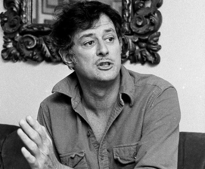Frank Deford, in a 1984 photo, is often considered the finest sportswriter of his generation. He died May 28 at age 78. Deford, who joined Sports Illustrated in 1962, was known for his detailed psychological profiles of athletes and coaches. He also won acclaim for his novels, his television and radio commentaries and for a heartfelt book about his daughter's struggle with cystic fibrosis. His stories helped raise sportswriting from the daily chronicle of victory and defeat to something with more literary ambition.