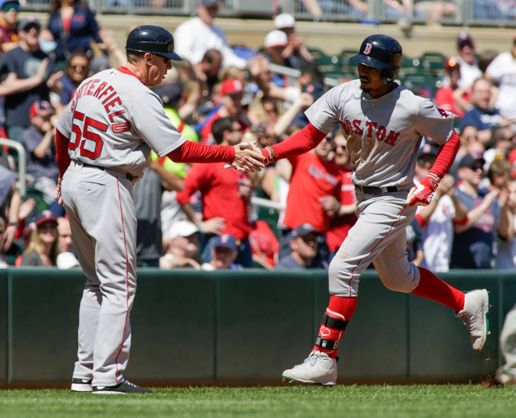 Mookie Betts found himself leading off this weekend, and making an impact for the Red Sox offense. The leadoff spot is where Betts envisioned himself, going into this season.