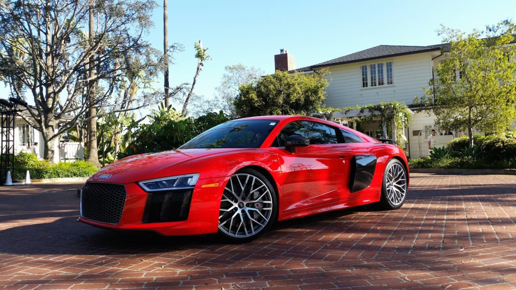 The 2017 Audi R8 Plus, with a 5.2-liter V10 engine, is being touted as an everyday supercar.