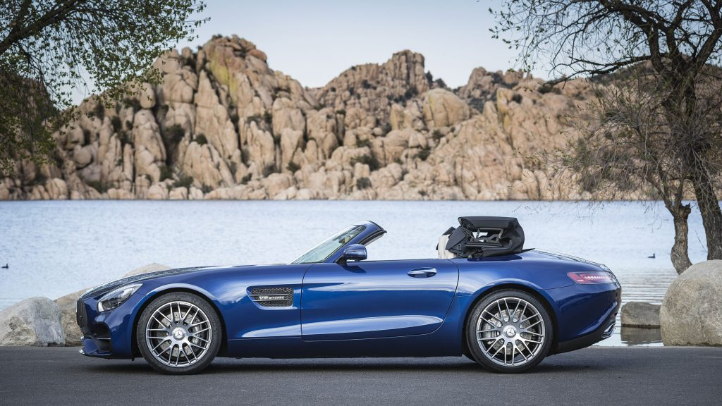 The 2018 Mercedes-AMG GT Roadster.