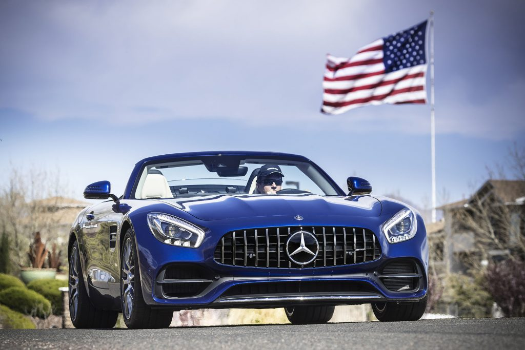 "The Roadster ""channels Mercedes-Benz's racing heritage."""