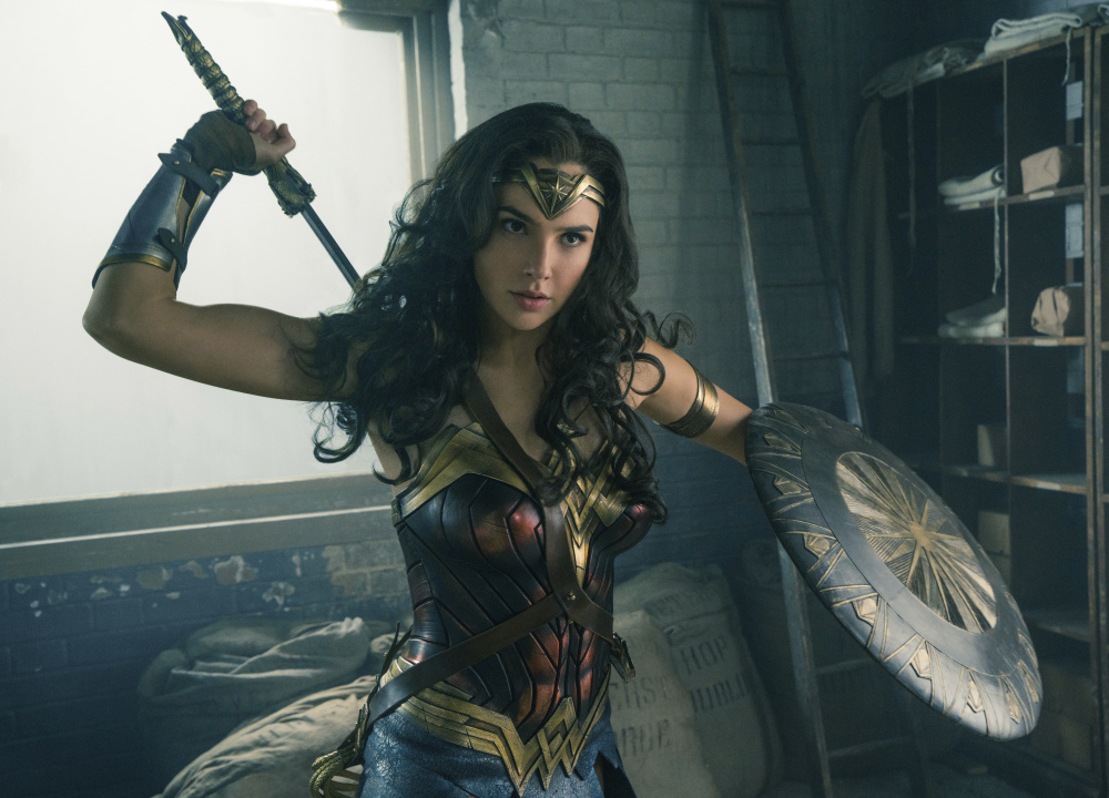"""Gal Gadot in the title role of Patty Jenkins' film, """"Wonder Woman."""""""