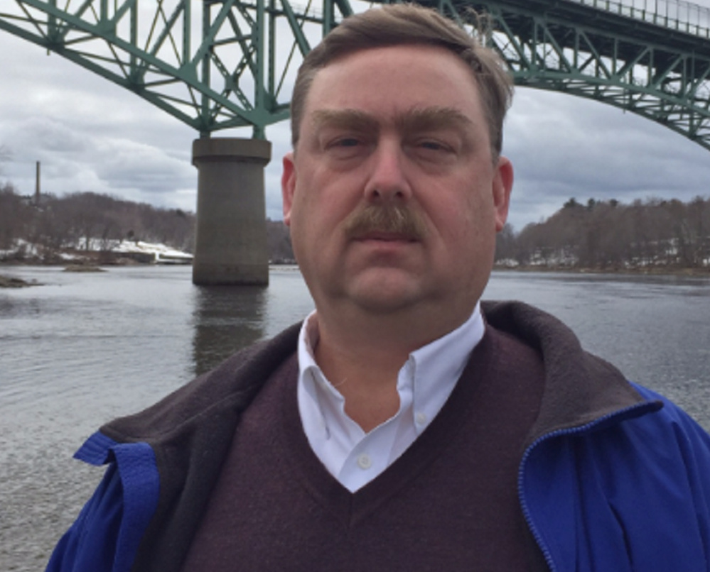Mike Brown, a scientist with the Maine Department of Marine Resources