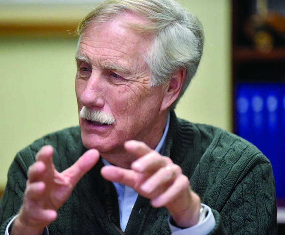 Mainers would do well to avoid any potential situation where a Democrat siphons off enough votes to allow a Republican to defeat independent Sen. Angus King in the 2018 election.