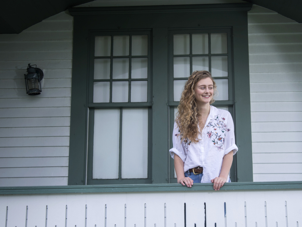 """I've really come to value dialogue and community,"" says 18-year-old Natalie Gale about her support-building experiences at Cape Elizabeth High School."
