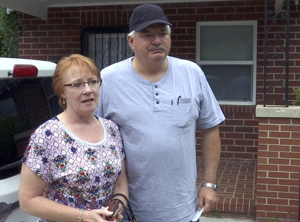Reality Winner's mother Billie Winner-Davis and stepfather Gary Davis said they would use their home to back her bond.