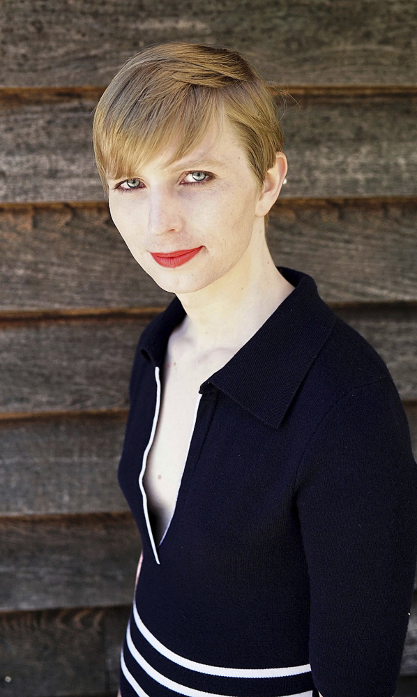 """Chelsea Manning, who struggled with gender transition in prison, says she had """"a responsibility to the public"""" to leak classified documents."""