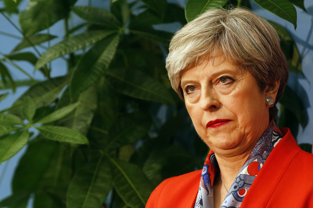"""""""I obviously wanted a different result last night,"""" said Britain's Prime Minister Theresa May on Friday after her Conservative Party could lost its majority in Parliament."""